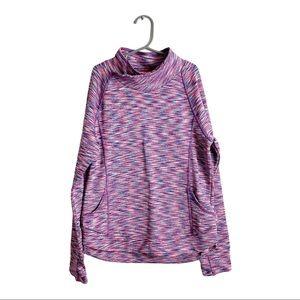 Athleta Girl Space Dye Pullover Sweatshirt Large